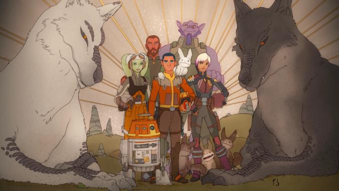 Rebels Final Painting